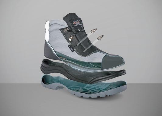A Brief Anatomy of Safety Footwear