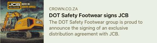Construction World-DOT Safety Footwear Signs JCB